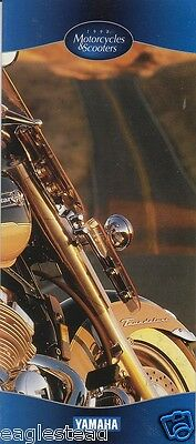 Motorcycle Brochure - Yamaha - Product Line Overview incl Scooter - 1998 (DC175)