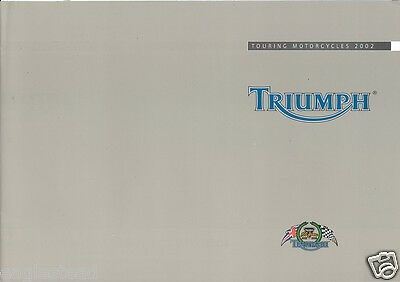 Motorcycle Brochure - Triumph - Touring Models - 2002 (DC185)