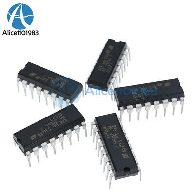 5PCS L293D L293 Push-Pull Four-Channel Motor Driver IC DIP-16 NEW