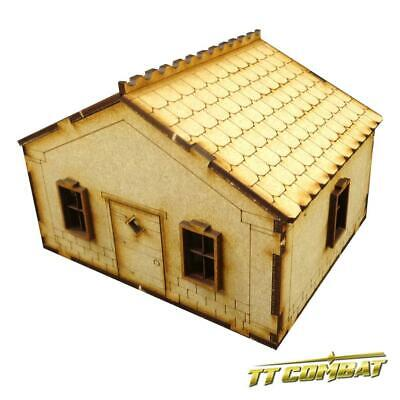 TTCombat - Old Town Scenics - House with accessories A - Great for Malifaux