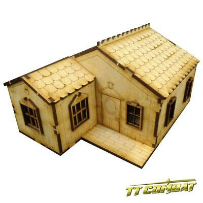 TTCombat - Old Town Scenics - House with accessories B - Great for Malifaux