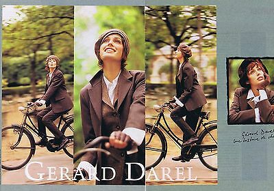 2c8628e1718d PUBLICITE ADVERTISING GERARD DAREL CHARLOTTE GAINSBOURG (2 pages ...