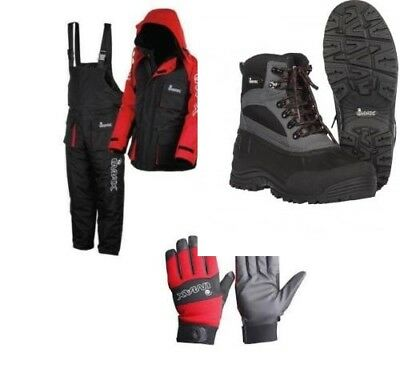 Imax Thermo Suit 2Pc Thermal Sea Fishing 100% Waterproof + Imax Boots + Gloves