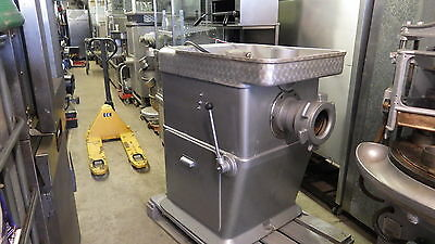 "Fred Holroyd Mincer size 56, massive 6"" Bore VERY VERY POWERFUL 8 BELT DRIVE"