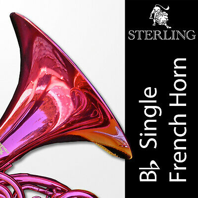 • Bb Single STERLING FRENCH HORN • Pro Quality • Brand New • Backpack Case •