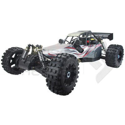 HSP 1/5 2.4ghz Bajer 4WD Petrol RTR RC Buggy 30cc Engine Metal Gear Box 94054S