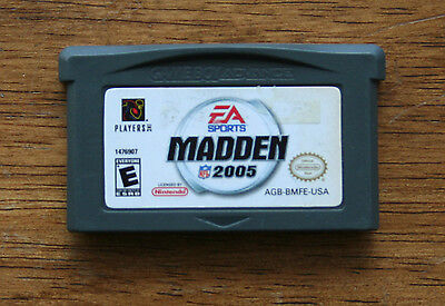 Madden NFL 2005 - Nintendo Game Boy Advance Game Only