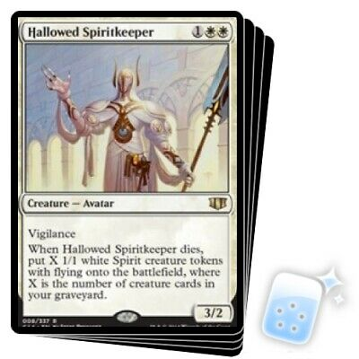 HALLOWED SPIRITKEEPER X4 Commander 2014 Magic MTG MINT CARD