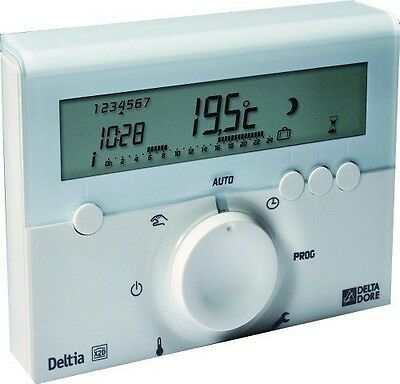 Delta Dore - DEL6050416 - Thermostat d'ambiance programmable NEUF