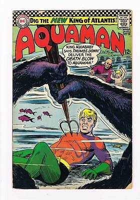 Aquaman # 28 Hail Aquababy, New King of Atlantis ! grade - 4.0 scarce hot book !