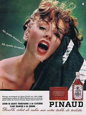 Breweriana, Beer Publicite Advertising 014 1963 Pinaud 612 Cosmétiques Cilia Be Novel In Design Collectibles