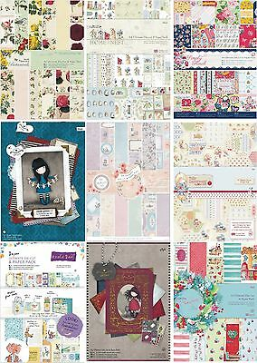 Papermania A4 Ultimative Decoupage Schablonen Schnitt & Papier Packs 80 Projekte