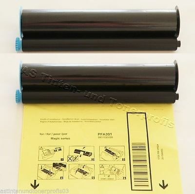 2x PFA 301 Ink-Film Philips Fax PPF 211 221 241 251 271