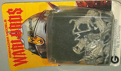 Grenadiers Warlords 15mm  fantasy armies orc Command  blister  nib