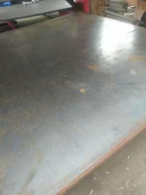"""HOT ROLLED STEEL PLATE  SHEET A-36 - .268"""" x 32 3/4"""" x 22"""""""