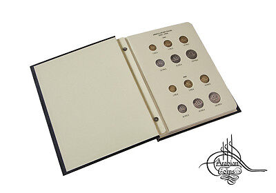 Kuwait 1961-1977 Coin Album inc. 1962 1964 1966 1967 1968 1969 1970 1971 etc