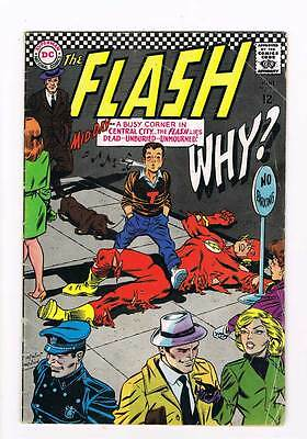 Flash # 171 Here Lies The Flash - Dead And Unburied ! grade - 4.0 scarce book !