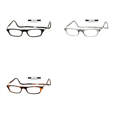 75c131a4bbd DW Clic XXL Adjustable Front Connect Magnetic Reading Glasses Frame  Expandable