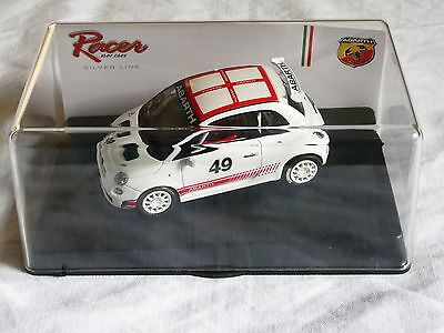 Slot car 1:32 RACER (Slot.it) Fiat 500 ABARTH Assetto Corse BIANCO Resin LIMITED