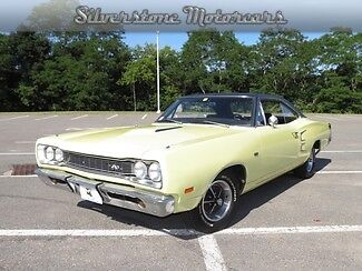 Dodge : Coronet Super Bee 1969 yellow super bee solid car needs interior work rear seats runs and drives