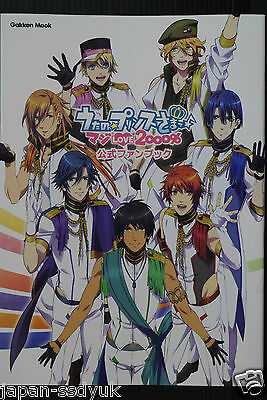 JAPAN Uta no Prince-sama Maji Love 2000% Official Fan Book