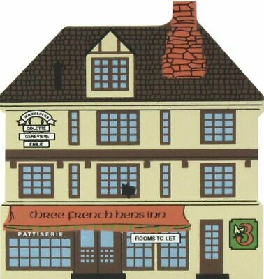 Cat's Meow Village 12 Days Christmas 3 French Hens Inn #00-133 NEW SHIP DISCOUNT