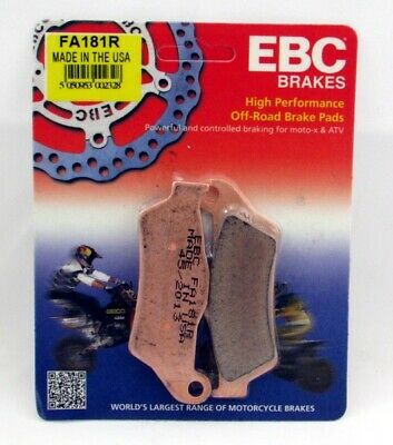 Ebc Sintered Brake Pads Front Fa181R Tm Junior 80/85/100 Cross Small Wheel 02-04