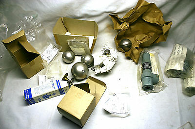 Boilers/Steam Heating Systems New parts Lot B&J Sarco,Stones ,Floats,valves NR