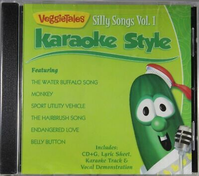 VeggieTales Silly Songs Volume 1 Christian Karaoke Style NEW CD+G Daywind 6 Song
