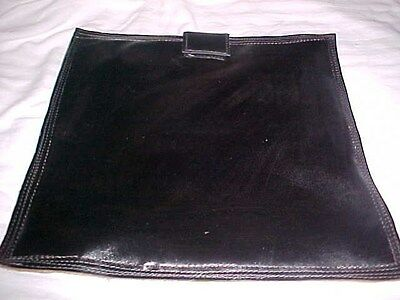"""New 12-13"""" Wd.sq. Beater Bag Shot Dolly/Thick Heavy Leather/Auto Body-Metal Work"""