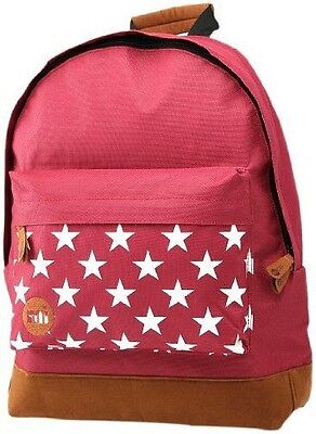 Mi-Pac Cartable Pocket Prints 17 L Multicolore (Stars Burgundy) GTM070 NEUF