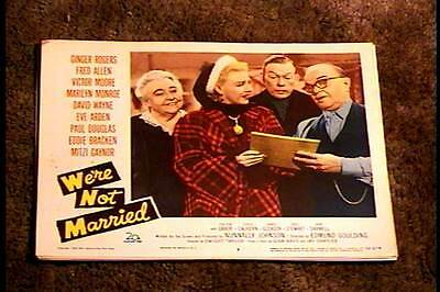 Were Not Married 1952 Lobby Card #3