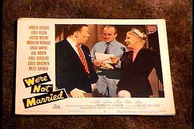 Were Not Married 1952 Lobby Card #2
