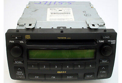 2004 To 2008 Toyota Corolla Factory Oem Am/Fm Stereo Radio With 6 Disc Cd Player