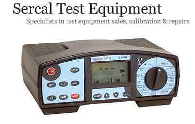 Calibration Service for Metrel Instaltest 61557