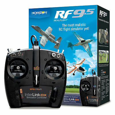 Realflight 7.5 Rc Helicopter Flight Simulator W/ Interlink Eflite Md 2 Gpmz4520