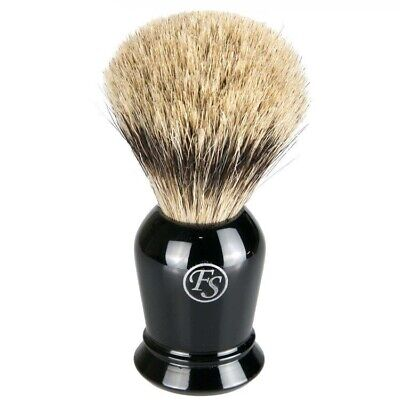Frank Shaving Pure Badger Shaving Brush Black