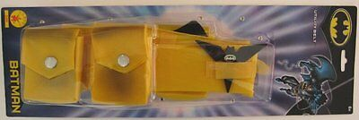 BATMAN UTILITY BELT Yellow Batarang Throwing Star Classic Costume LICENSED NEW