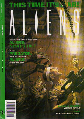 ALIENS Volume 2 #2 - August 1992 - Large Format - Back Issue