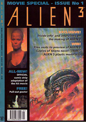 ALIEN 3 - Movie Special - Large Format - Back Issue