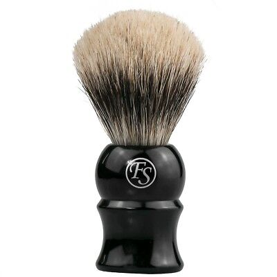 Frank Shaving Fine Badger Hair Shaving Brush #18 Black