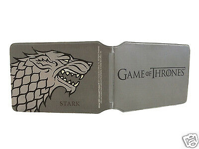 Official Game of Thrones Stark ID Travel Pass Card Holder - A great gift!