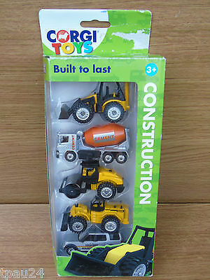 Corgi Construction Vehicles 5 Pack