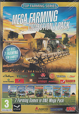 Mega Farming Simulator 7 pack Collection PC Professional Farmer 2014, expansions