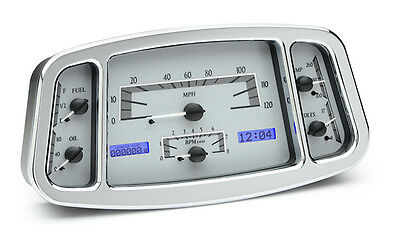 VHX-33F: 1933-34 Ford VHX Instrument (Silver Alloy White)