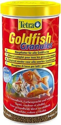 Tetra Poissons Eau Froide Aliment Complet Goldfish Granules 1 L  NEUF
