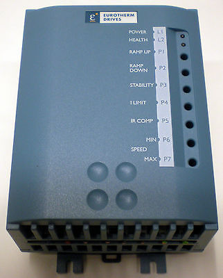 EUROTHERM DRIVES MODEL 506/00/20/00 MOTOR DRIVE SPEED CONTROLLER CONTROL UNIT