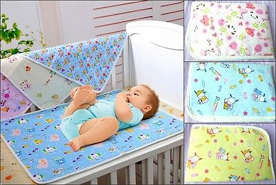 Baby Kids Waterproof Mattress Sheet Protector Bedding Diapering Changing Pads