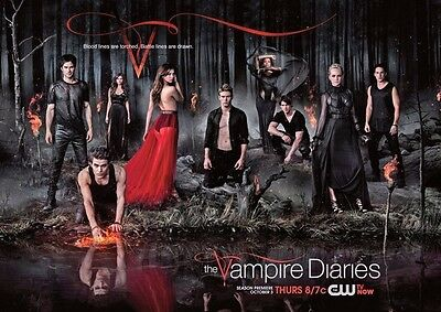 The Vampire Diaries Blood Lines Adv POSTER