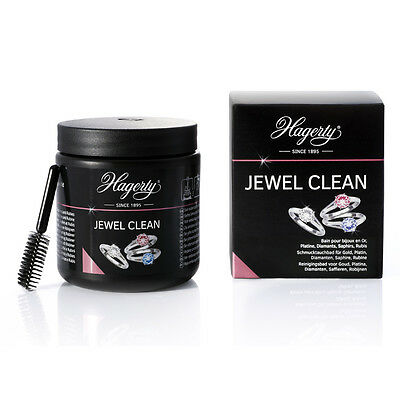 Hagerty Jewel Clean 170ml Jewellery Bath for Gold Platinum Diamonds Sapphire